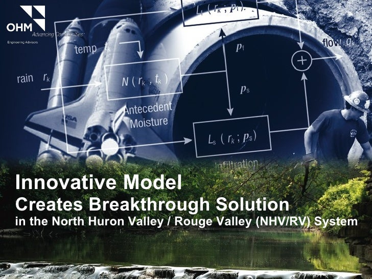 Innovative Model Creates Breakthrough Solution  in the North Huron Valley / Rouge Valley (NHV/RV) System