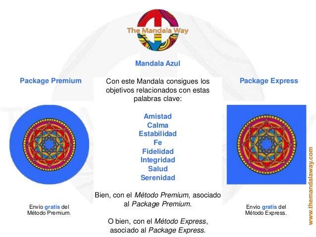 Mandala Azul Package Premium Package ExpressCon este Mandala consigues los objetivos relacionados con estas palabras clave...