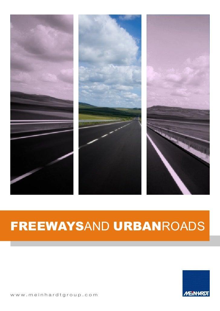 Transportation   Freeways & Urban Roads Capability Statement