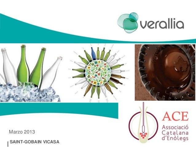 [XXIV Congrés ACE] Verallia, el seu envàs en vidre