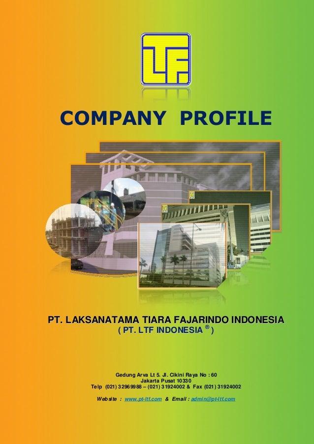 Oke Company Profile Terbaru Feb 2014