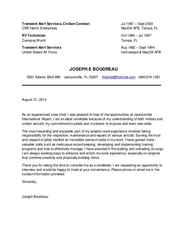 aircraft maintenance resume