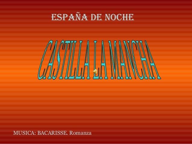 ESPAÑA DE NOCHE MUSICA: BACARISSE. Romanza