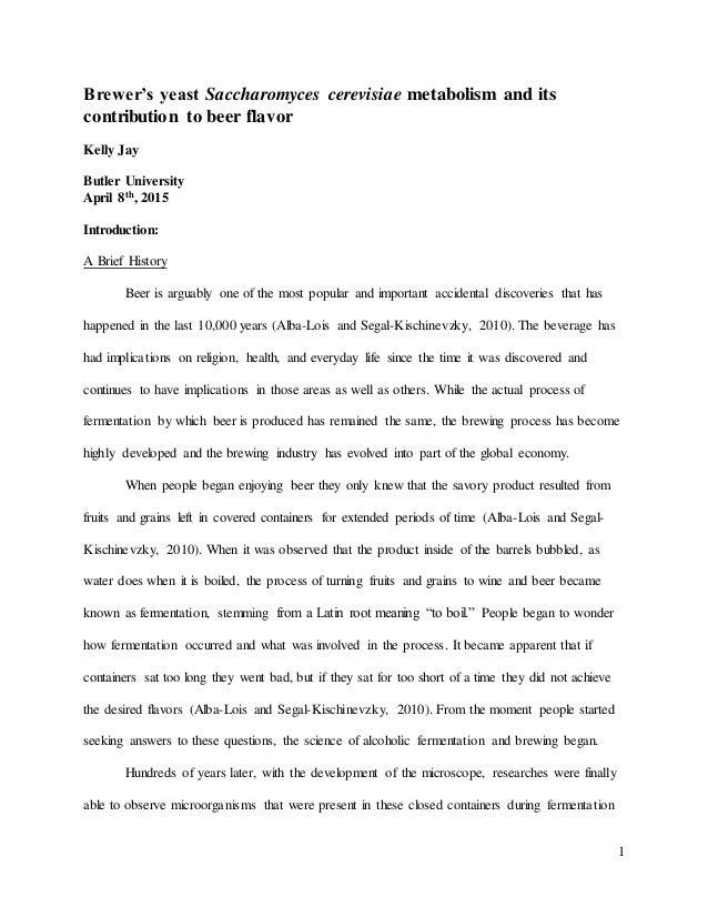 Senior Capstone Paper Examples
