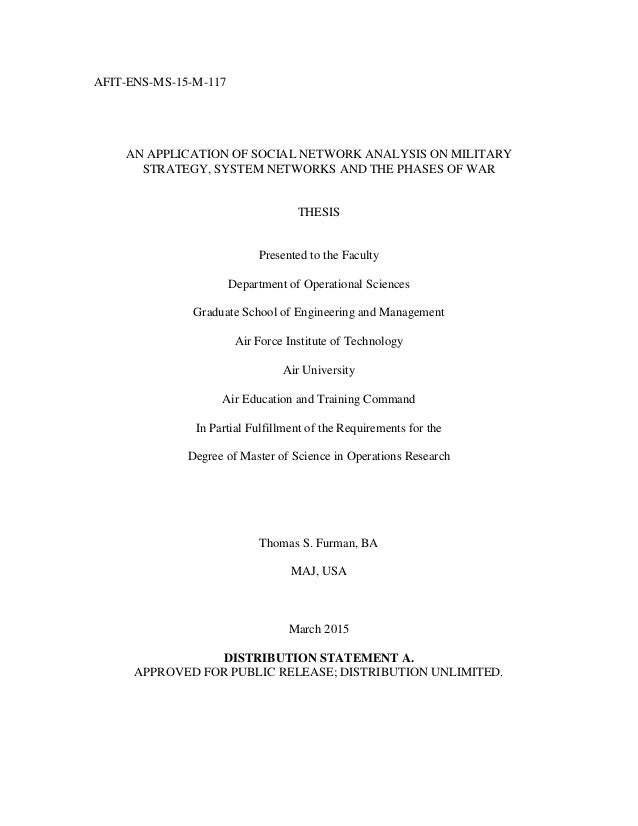 Are masters thesis published