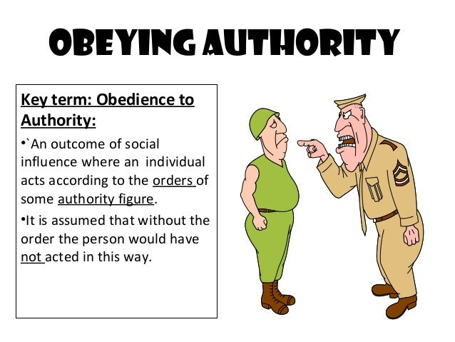 PPT - Obedience PowerPoint Presentation - ID:190007