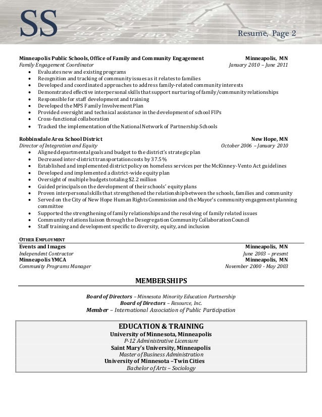 of public policy resume