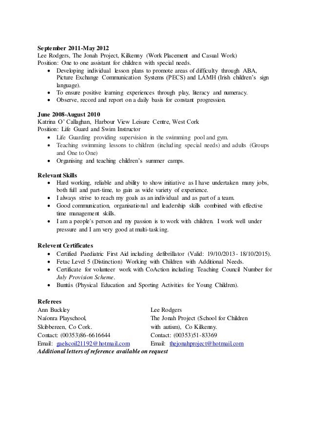 Examples For Nanny Position Stonevoicesco Graduate Lpn Resume Nanny Resume  Samples Makeup Artist Resume Examples Sample