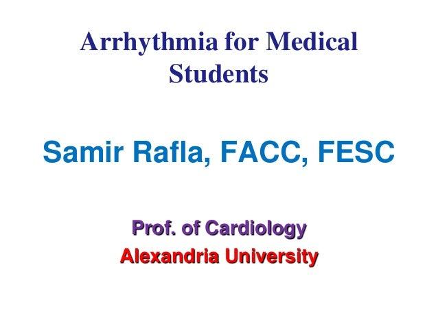 Samir Rafla - ECG arrhythmia for medical students