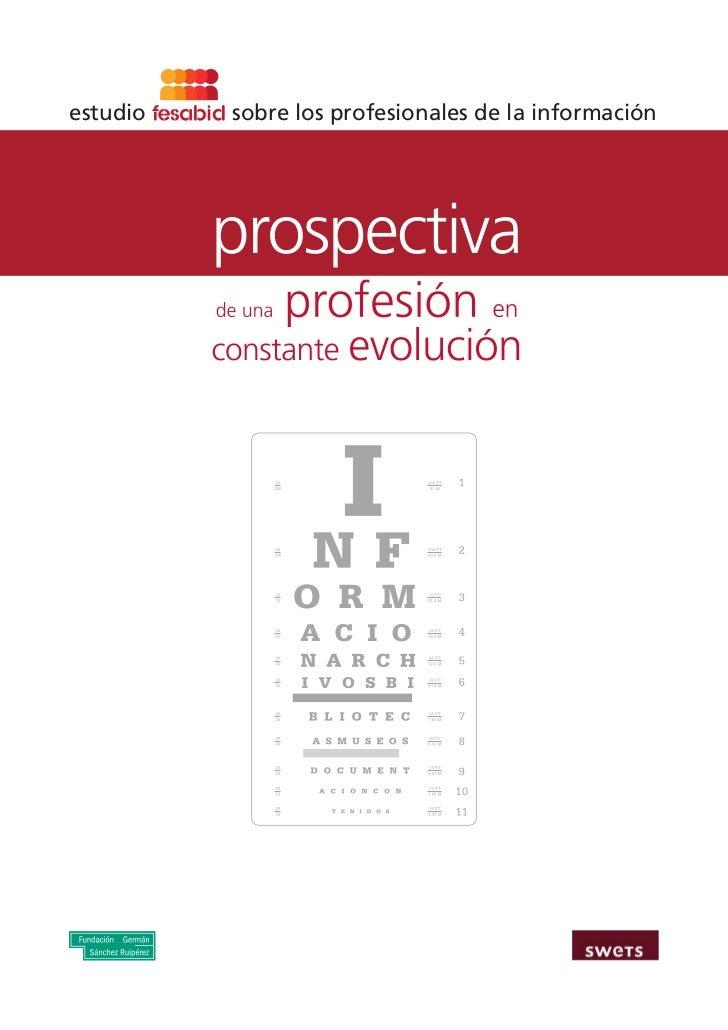 Estudio Fesabid: Prospectiva de una profesión en constante evolución