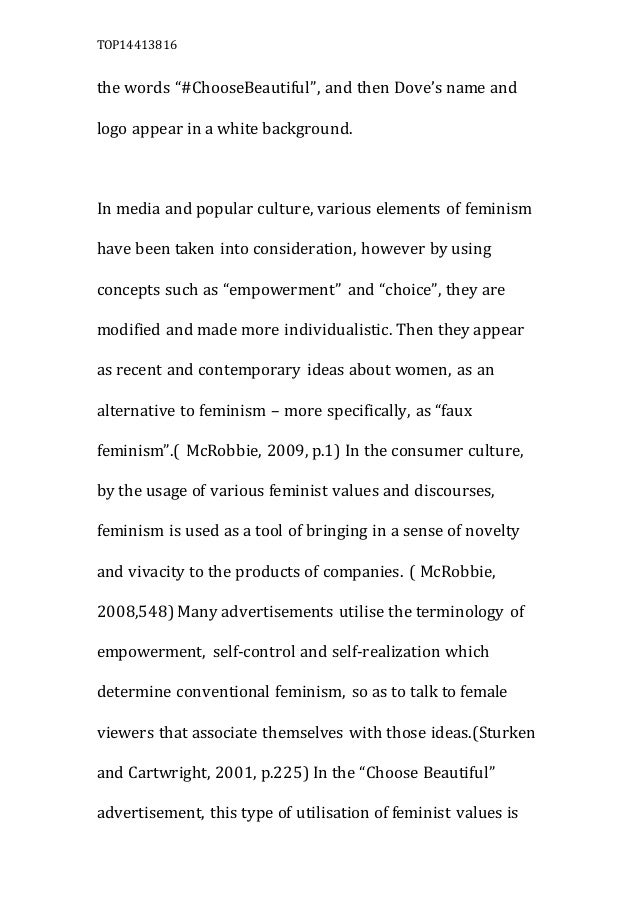 feminism in pop culture essay example Feminist theory and pop culture pop culture, gender, feminist theory and representation positive indications that feminism is alive and well in popular culture.