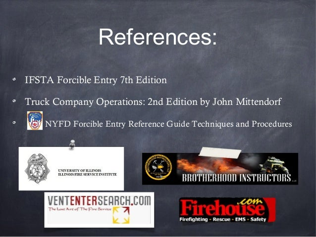 Buffalo Grove Fire Dept Forcible Entry Ppt