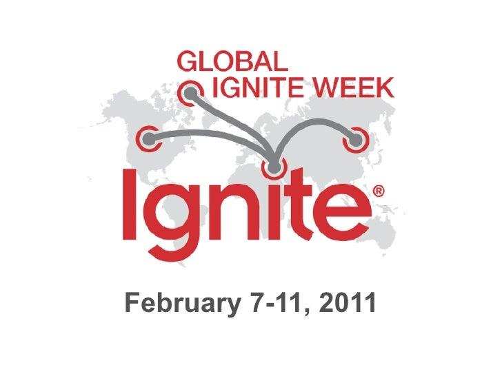 February 7-11, 2011
