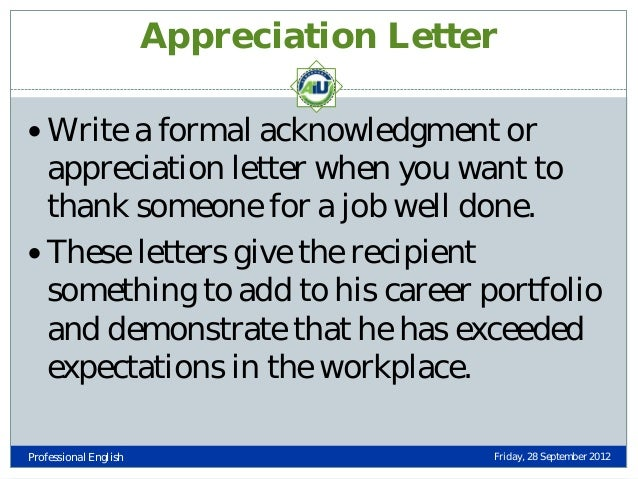job well done letter business thank you letter for a job well done ...