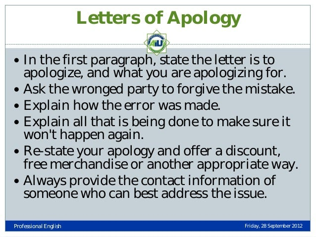 Essay On Apology