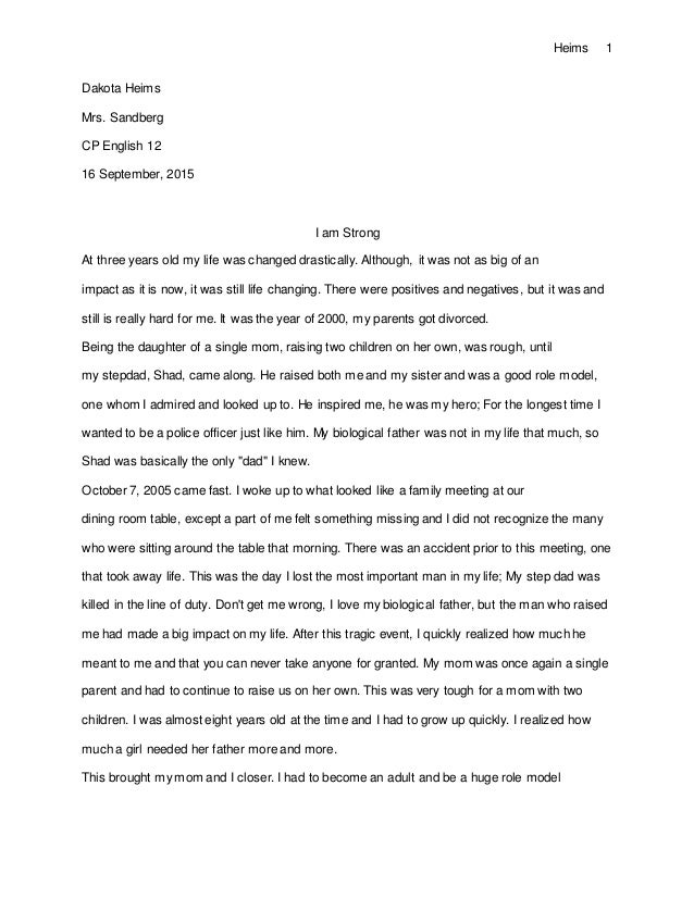 Narrative essay about wedding day