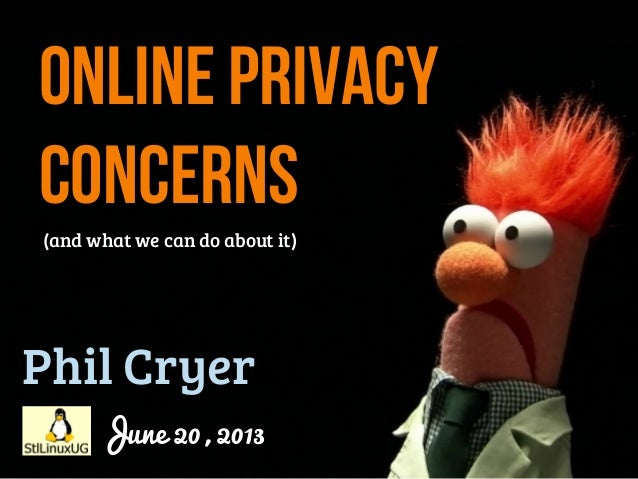 Online privacy concerns (and what we can do about it)