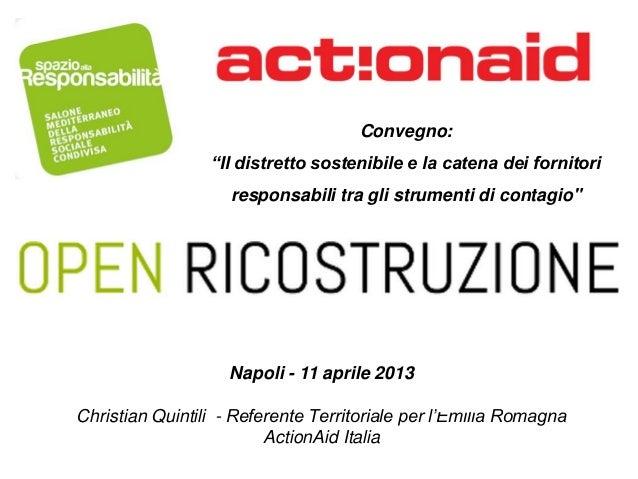 Open Ricostruzione - Napoli 11 aprile 2013