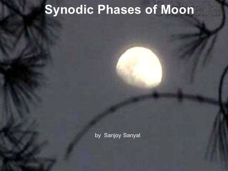 Synodic Moon Phases