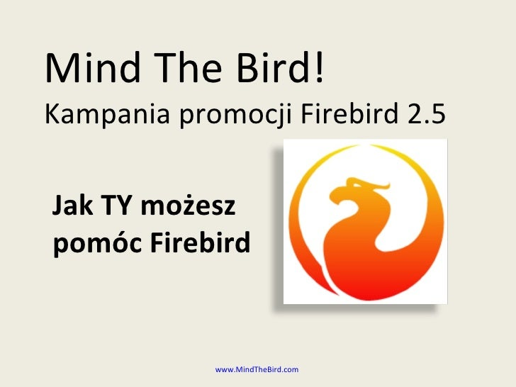 What Is Mind The Bird PL (ODP)