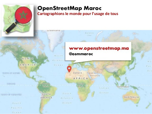 OpenStreetMap, une introduction (Maroc)