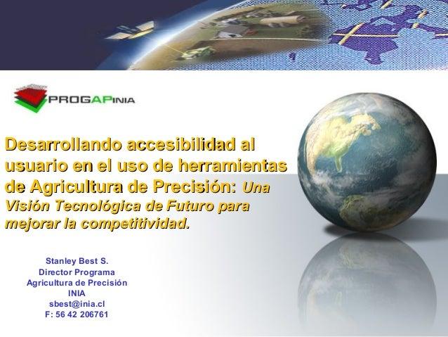 Desarrollando accesibilidad alDesarrollando accesibilidad al usuario en el uso de herramientasusuario en el uso de herrami...