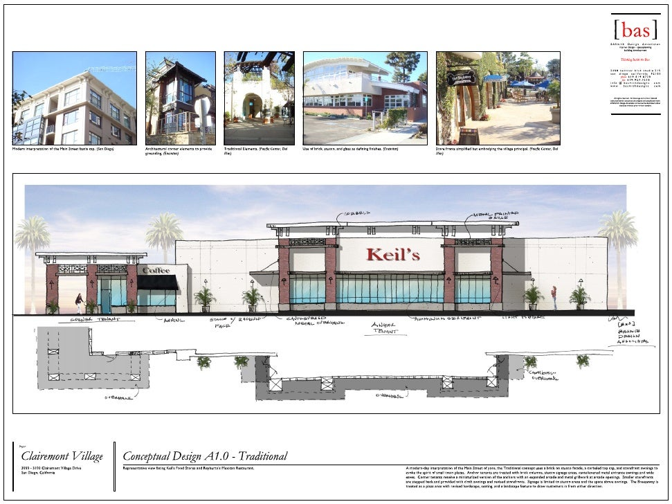 Clairemont Village Concepts