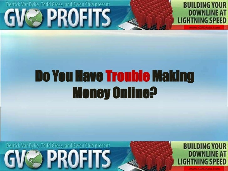 Do You Have Trouble Making Money Online?<br />