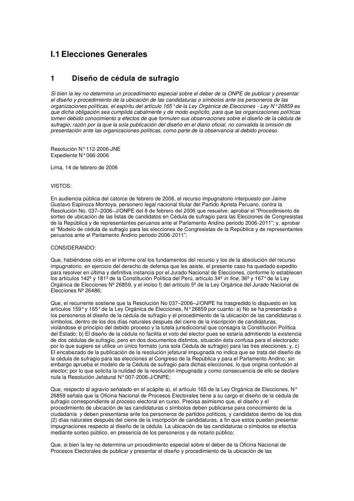 1.1.1. diseño de cédula de sufragio y otros eg 2006