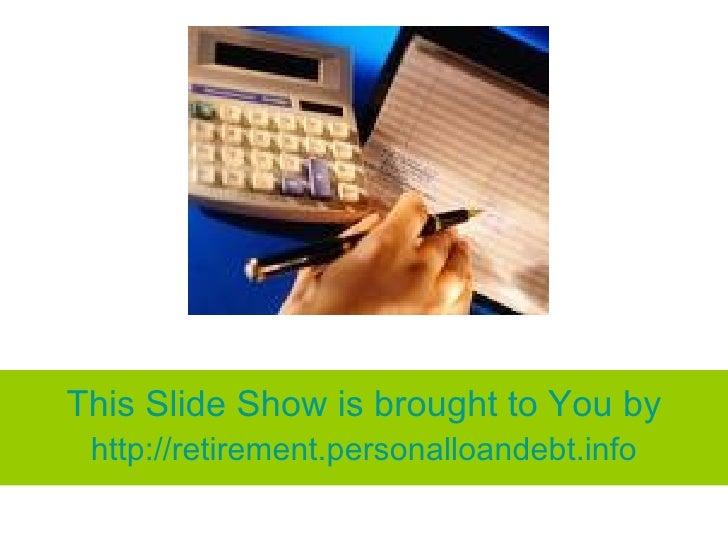 A Handy Tool: Retirement Calculator
