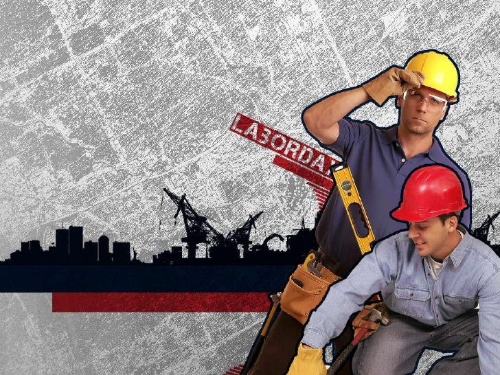 Free Labor Day PowerPoint Template 1