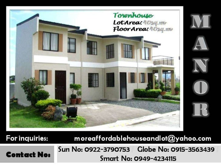 Very Affordable House and Lot for sale in Cavite (Murang Bahay at Lupa)