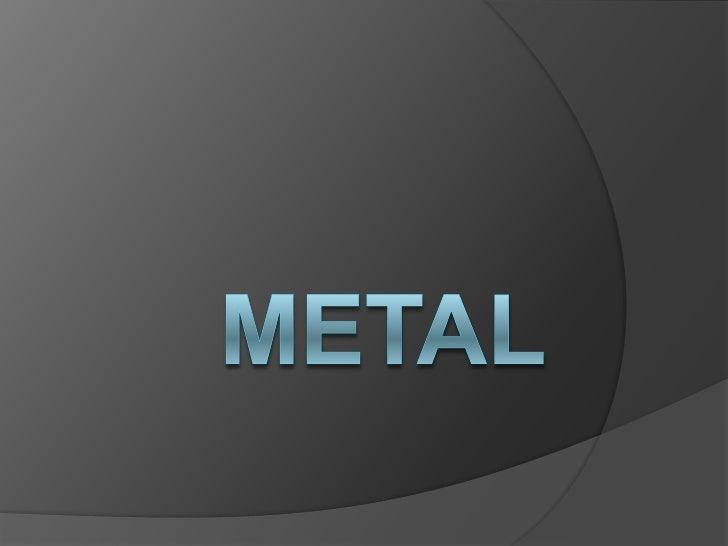 Trabajo Metal