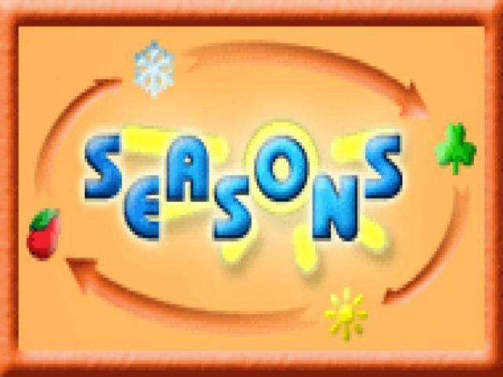 What`s season? A season is a division of the year, marked by changes  in weather, ecology, and hours of daylight. Season...