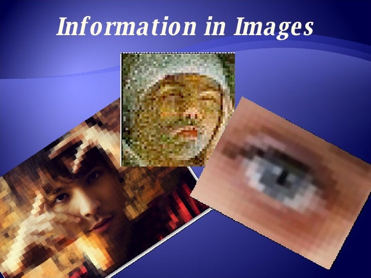 Information in Images