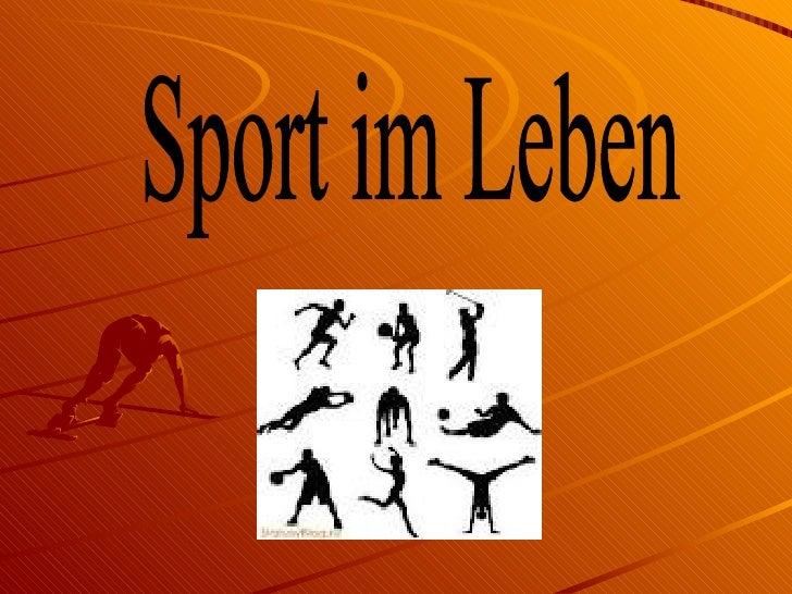 Fußball ist der populärste  Sport Deutschlands.