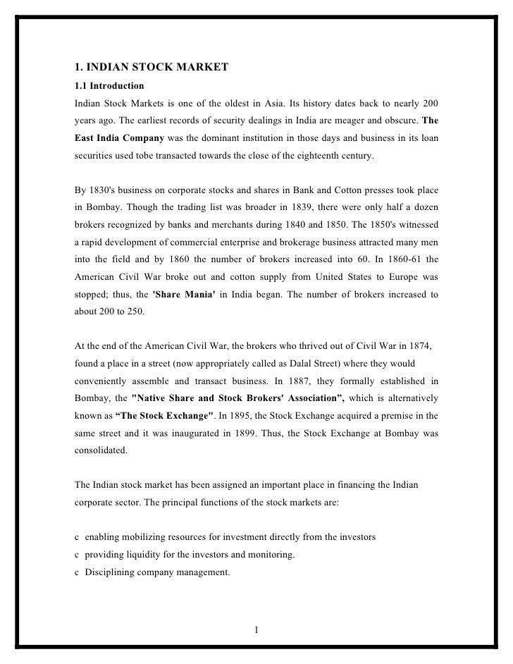 Stock market essay help!! pleaseee?