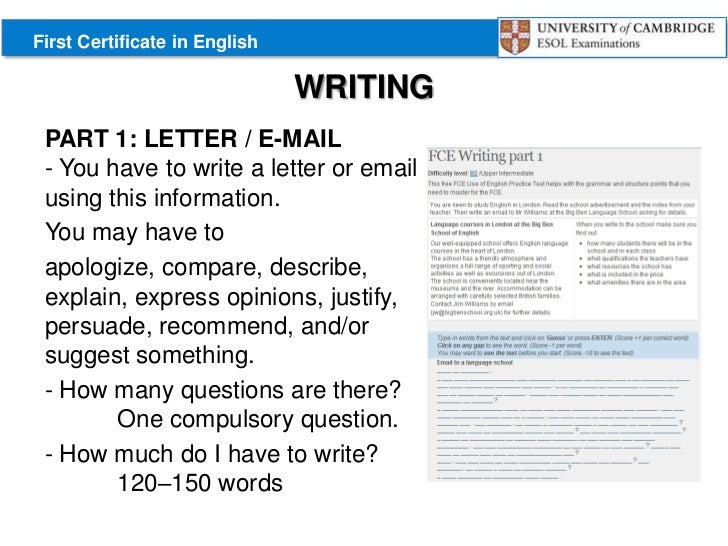 writing articles fce Fce writing part 1 exam tactics discussion questions and tips article written by alex case fce (first certificate in english) writing tactics.