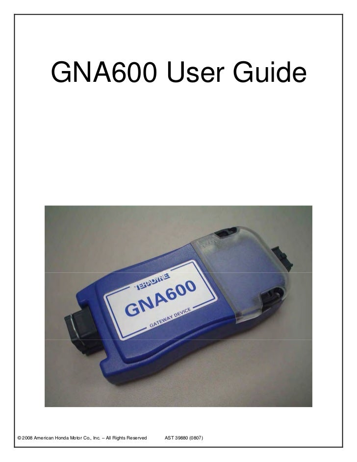 How to use the good obd tuning Honda GNA600?