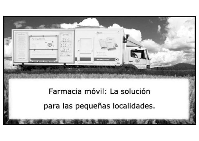 Farmacia móvil.¿Una alternativa para la farmacia rural?