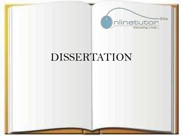 Dissertation Writing For Payment