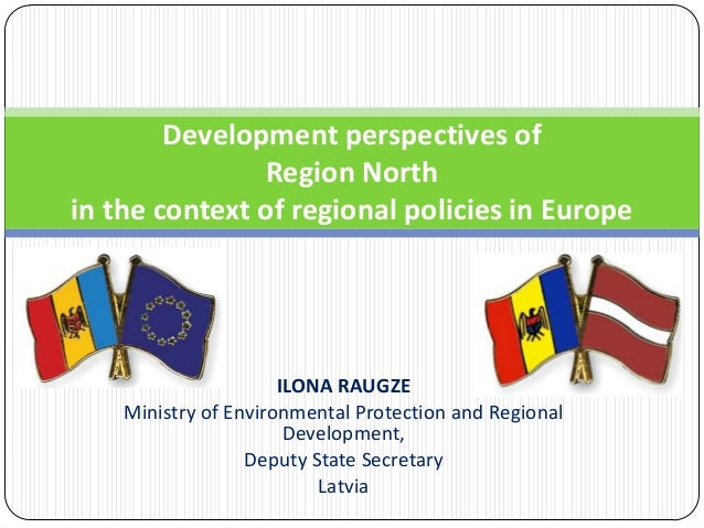 Development perspectives of Region North in the context of regional policies in Europe