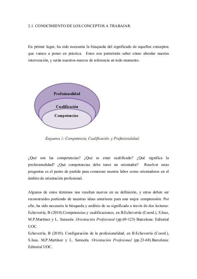 2.1. CONOCIMIENTO DE LOS CONCEPTOS A TRABAJAR.En primer lugar, ha sido necesaria la búsqueda del significado de aquellos c...