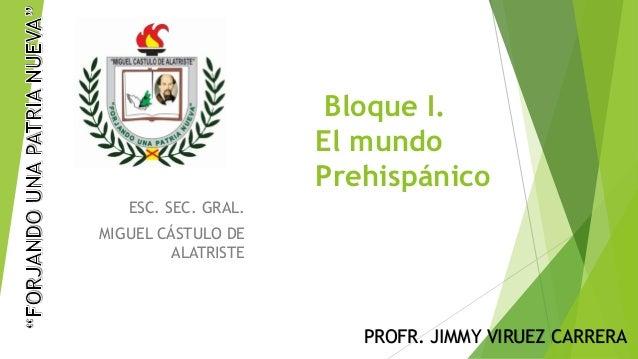1.1 mundo prehispanico