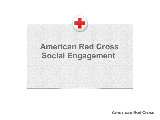 1.2 American Red Cross social engagement