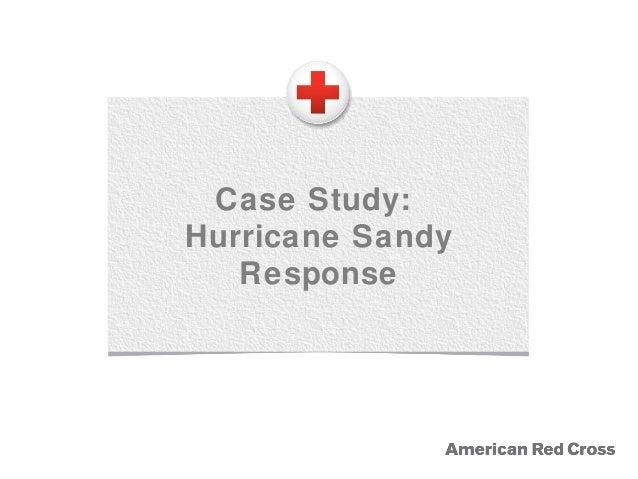 Case Study: Hurricane Sandy Response
