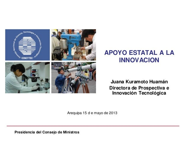ADEX - convencion capsicum 2013: concytec
