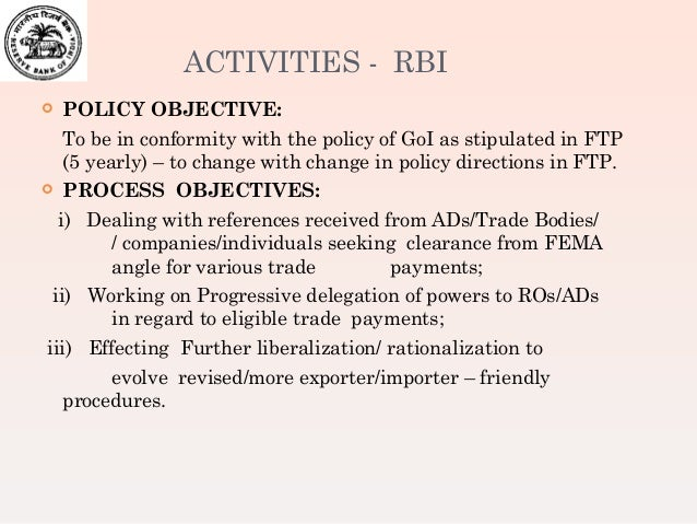 Rbi rules for forex trading in india