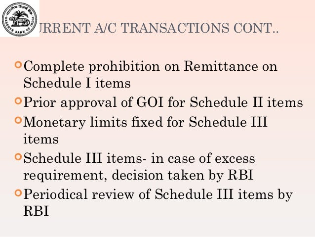 Rbi rules for forex trading