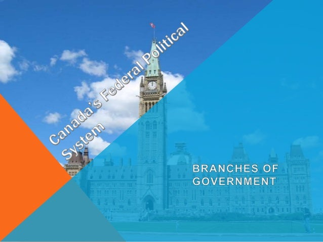 OVERVIEW Canada's Federal Political System There are three branches to the Canadian Federal Political System. Each branch ...